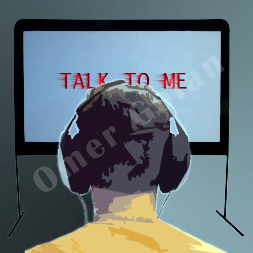 """Talk To Me"", omta, art by Omer & Tal Golan"